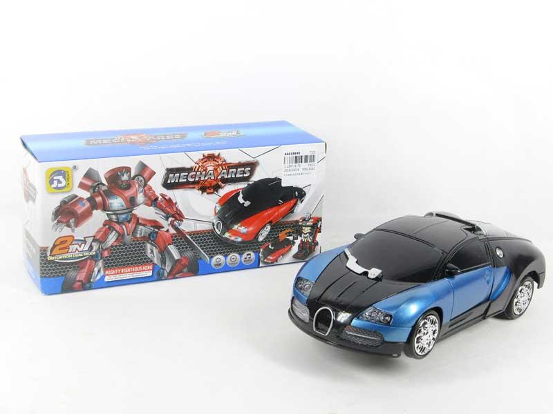 B/O Transforms Car W/L_M toys
