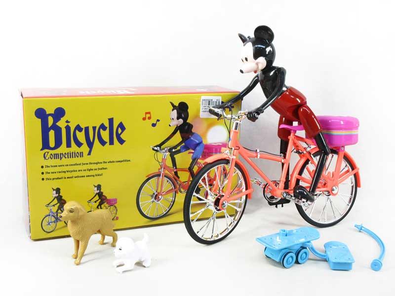 B/O Bicycle W/L_M toys