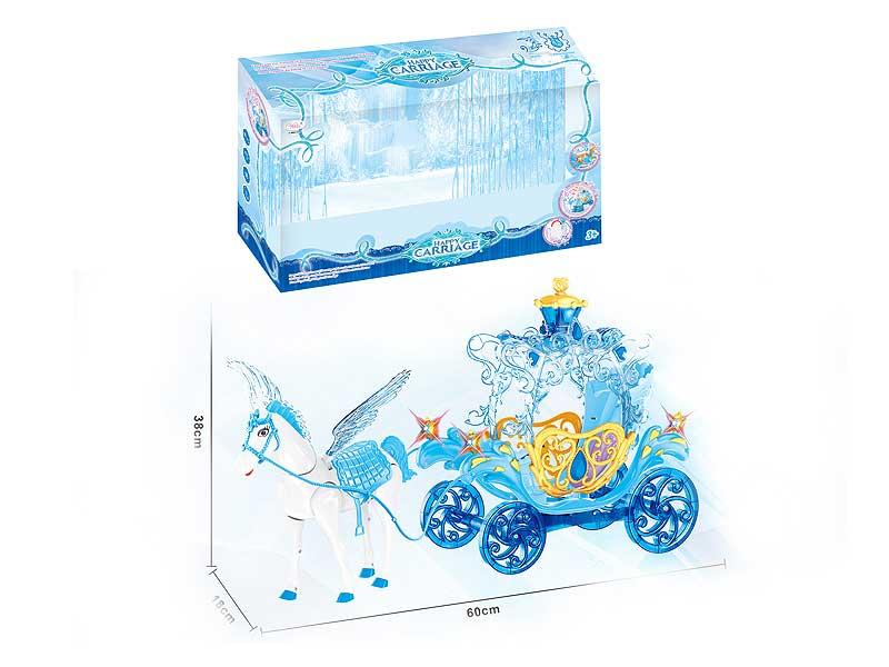 B/O Carriage W/L_M toys