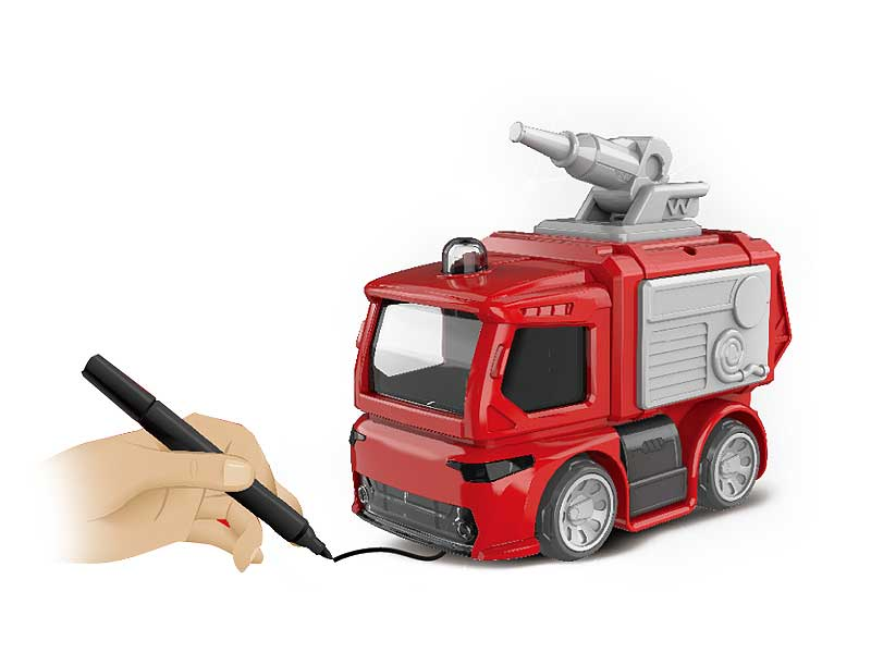 Marking and Tracking Fire Engine with Light Music toys