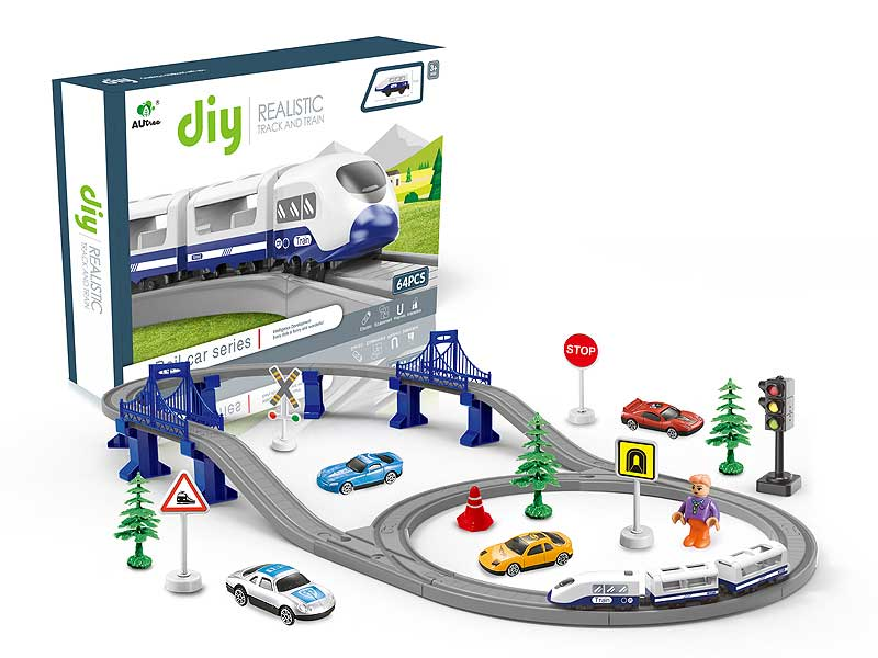 B/O Orbit Train with Light and IC toys