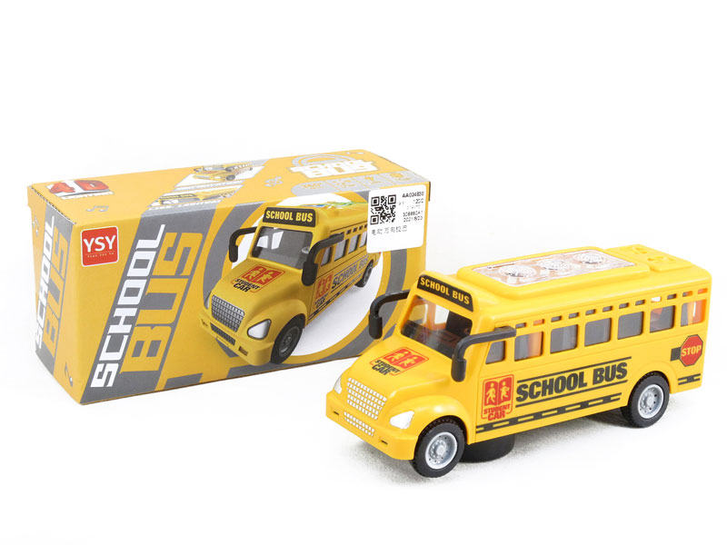 B/O universal School Bus toys