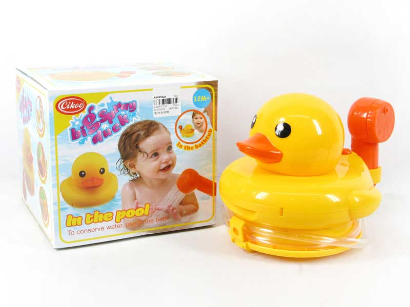 B/O Big Spray Duck toys