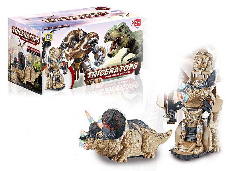B/O Transforms Dinosaur W/L_M toys