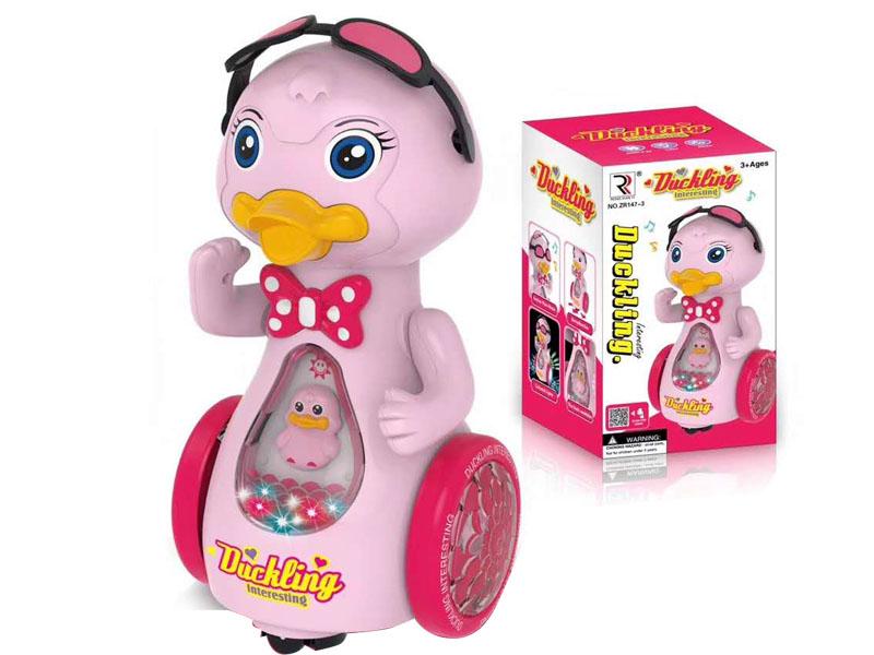 B/O universal Duck W/L_M toys