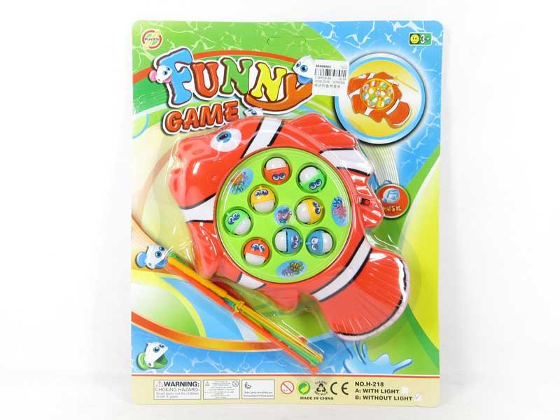 B/O Fishing Game W/M toys