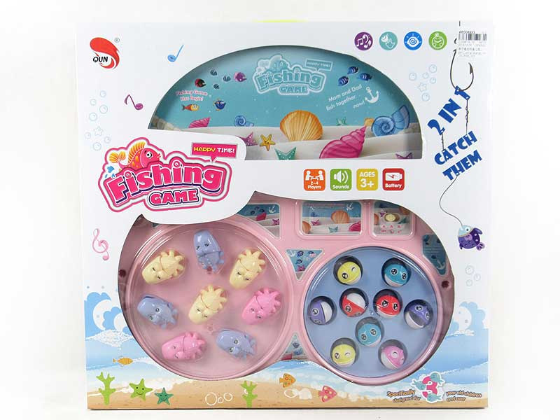 B/O Fishing Game(2C) toys