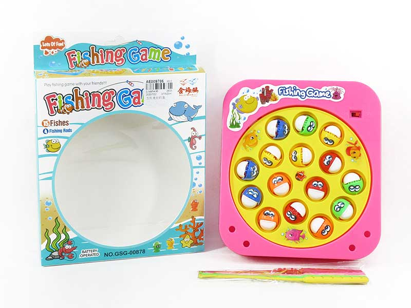 B/O Fishing Game toys