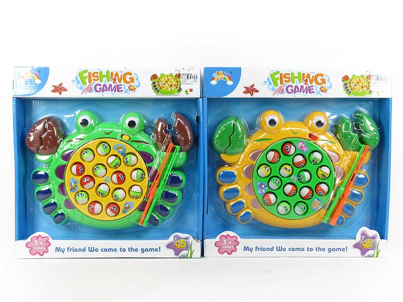 B/O Fishing Game W/M(2C) toys