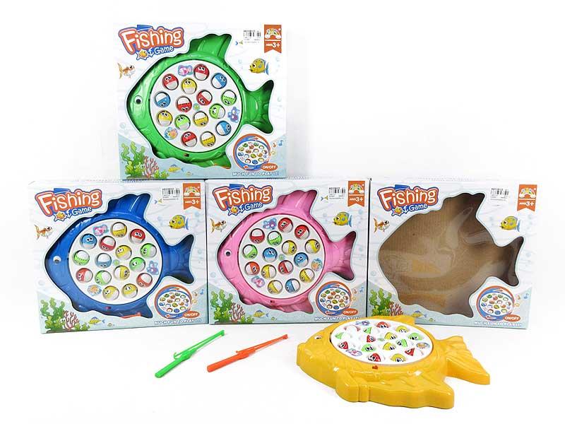 B/O Fishing Game W/M(4C) toys
