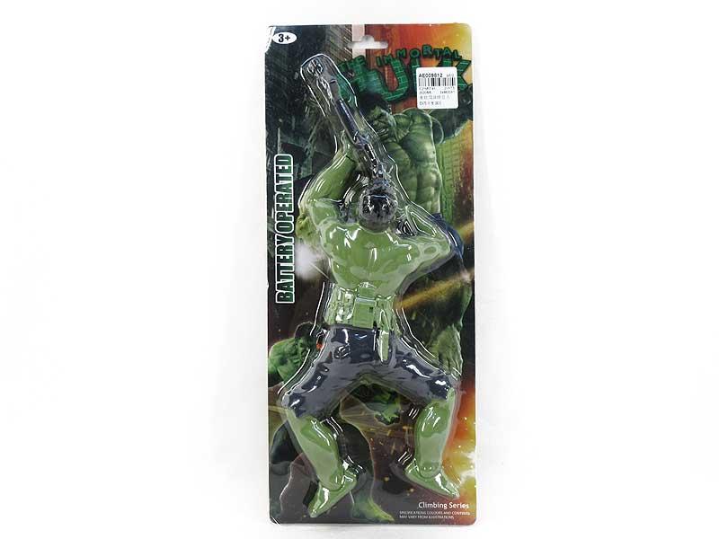 B/O Climber The Hulk toys
