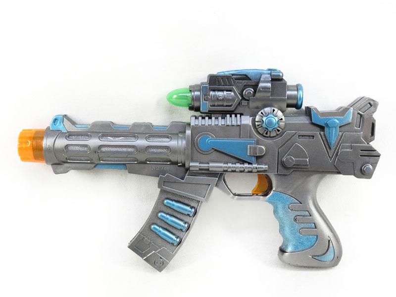 B/O Gun W/L toys