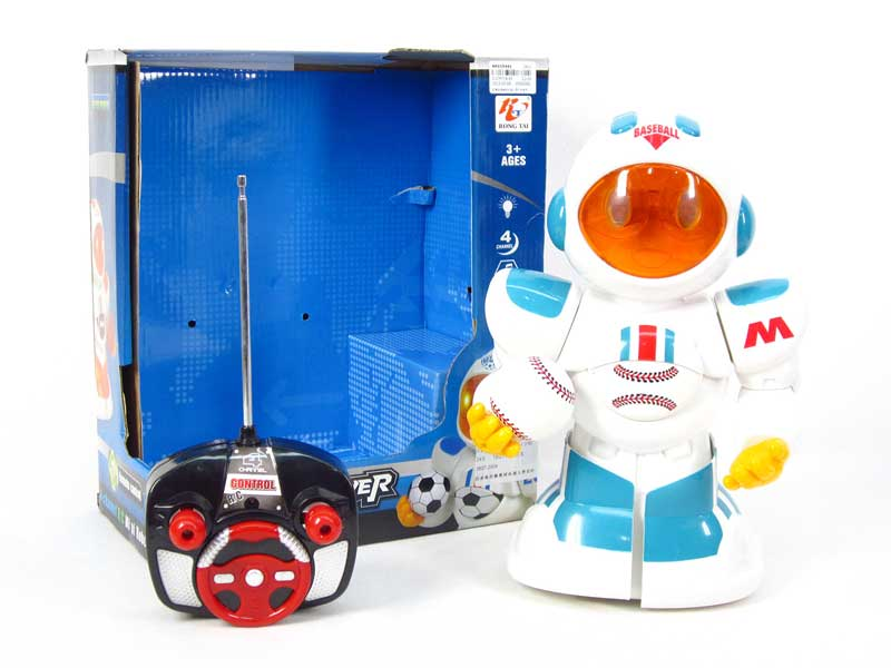 R/C Robot 4Ways W/L_M toys