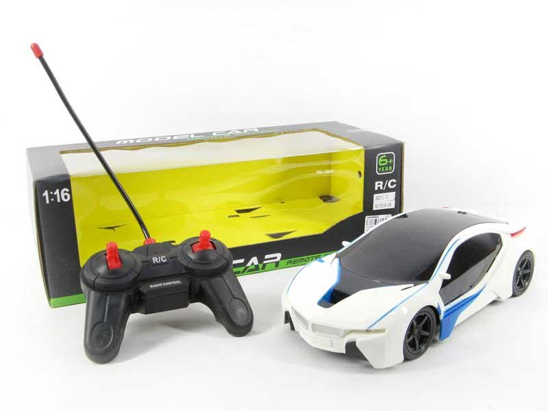 1:16 R/C Car 4Ways W/L toys