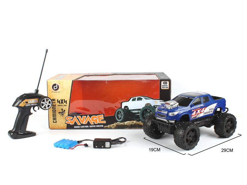 1:14 R/C Racing Car 4Ways W/L_Charge toys