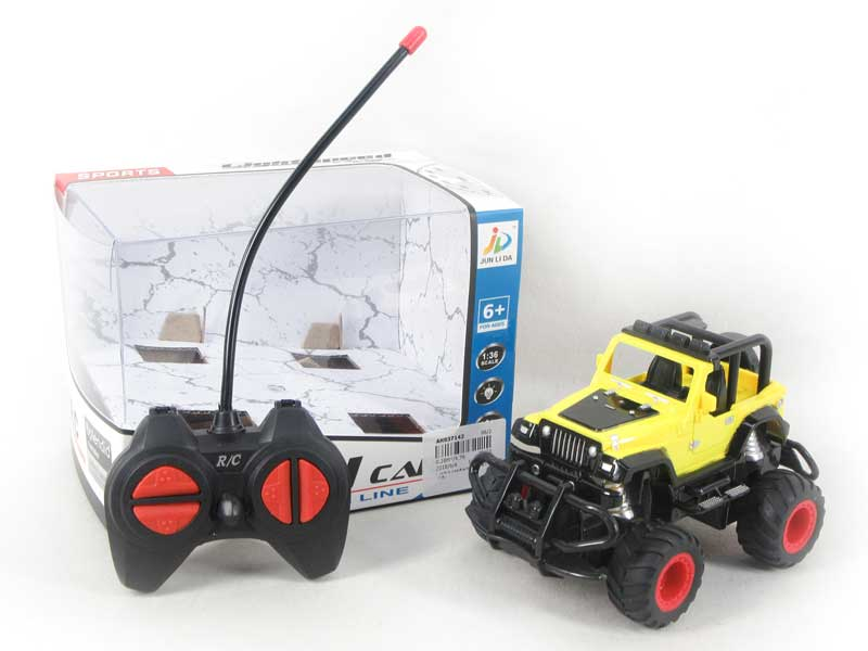 1:36 R/C Cross-country Car 4Ways W/L(2C) toys