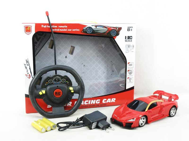 1:18 R/C Car 4Ways W/L_Charge(3C) toys