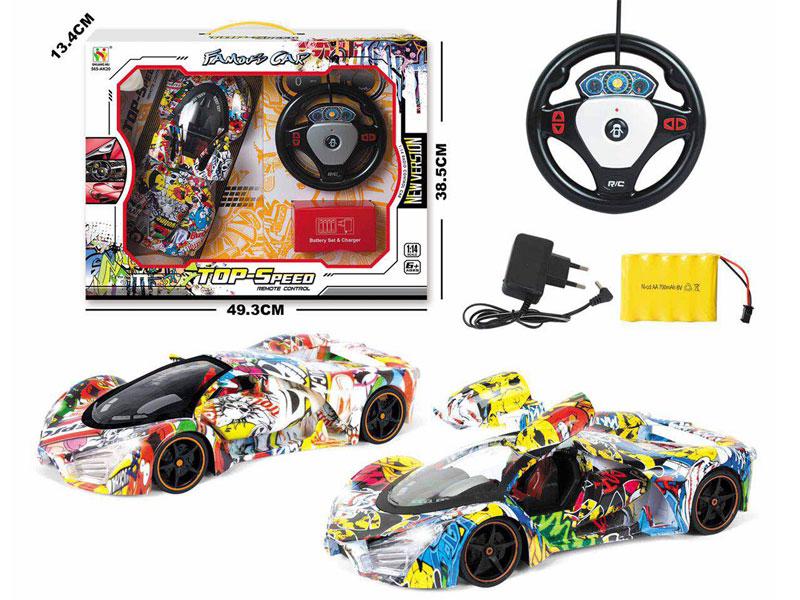 1:14 R/C Car 5Ways W/L_Charge(2C) toys