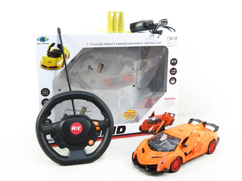 1:18 R/C Car W/L_Charge toys