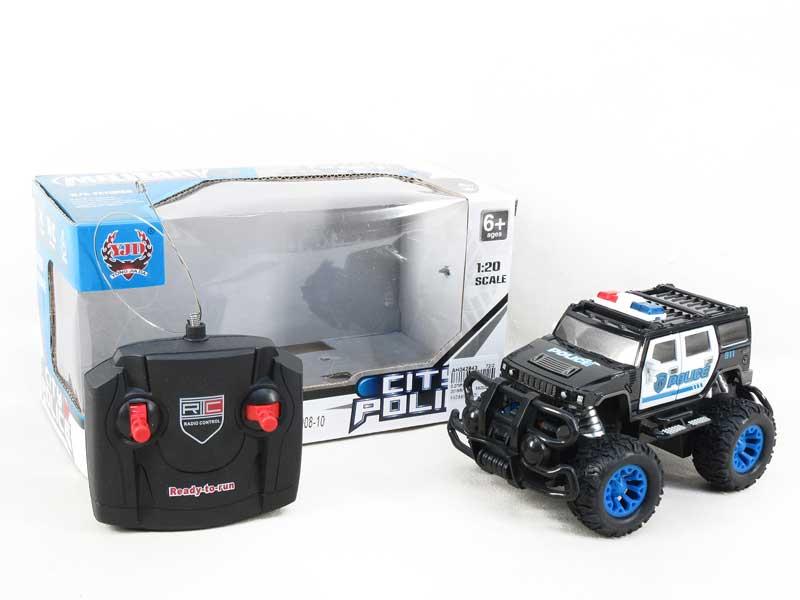 R/C Police Car 4Ways(2C) toys