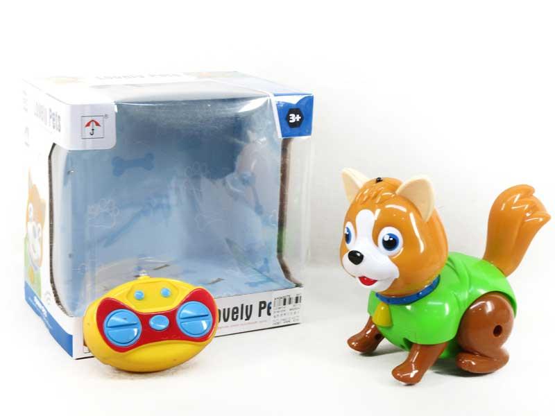 R/C Dog W/L_M toys