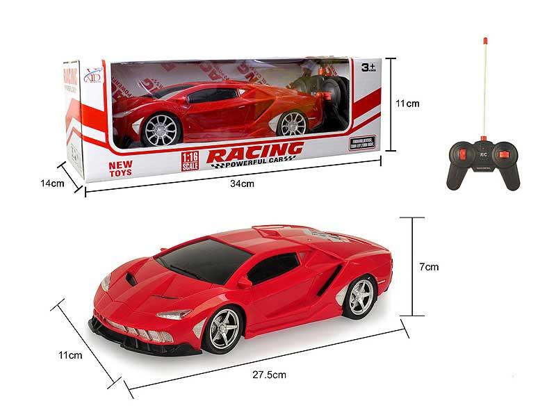 1:16 R/C Car 4Ways(2C) toys