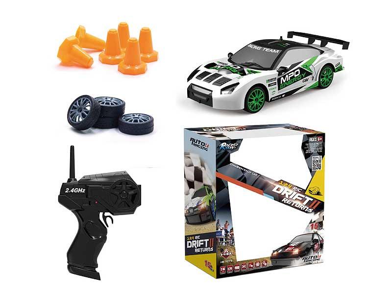 2.4G 1:24 R/C Car remote racing car W/L toys