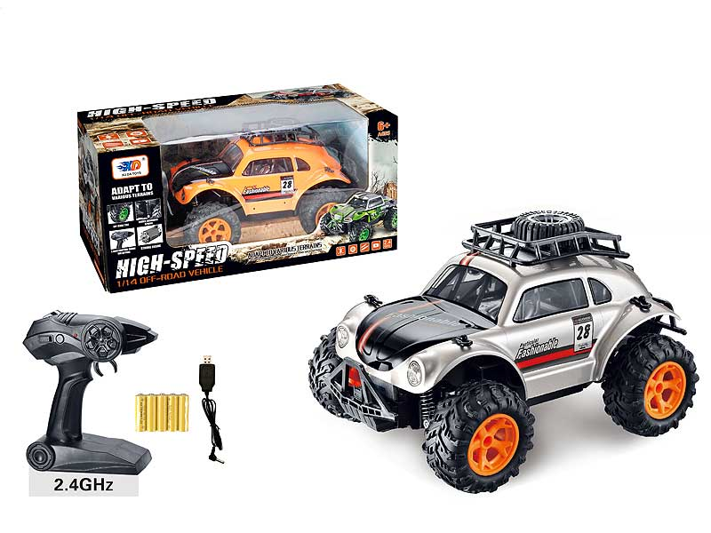 2.4G R/C Car W/Charge toys