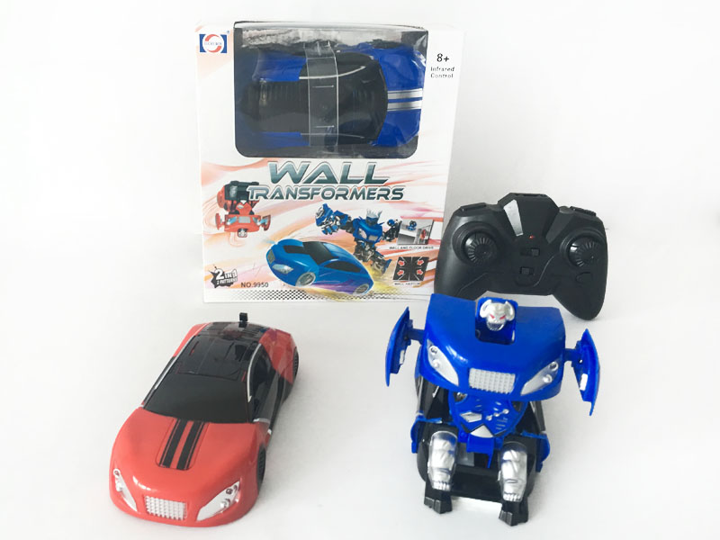 R/C Transforms Climb Wall Car(2C) toys