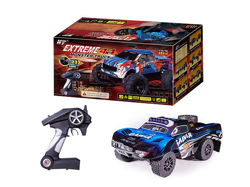 2.4G 1:16 R/C 4Wd Car W/Charge toys