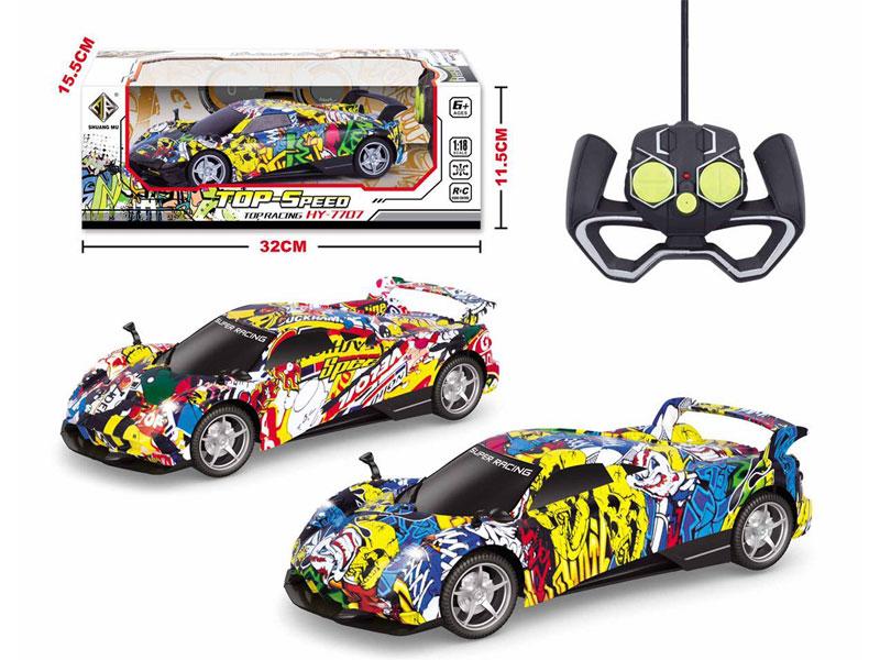 1:18 R/C Car 4Ways W/L(2C) toys