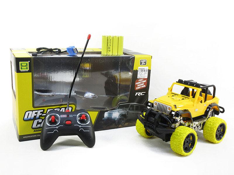 1:18 R/C Car 4Ways W/L_Charge(2C) toys