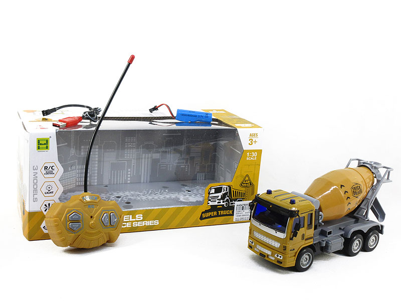 1:30 R/C Construction Truck W/L_Charge toys