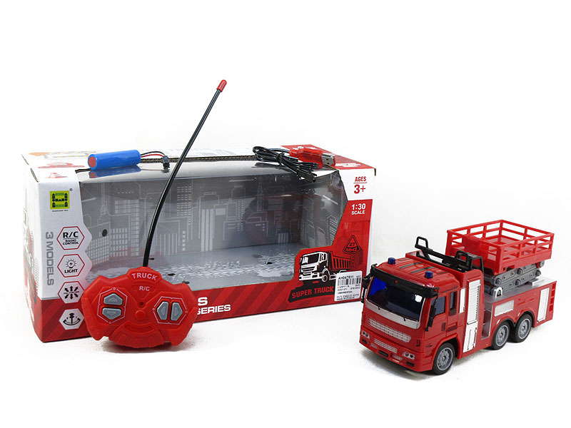 1:30 R/C Fire Engine 4Ways W/L_Charge toys
