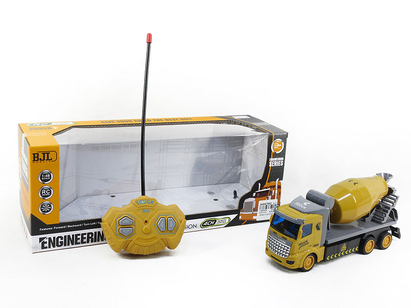 1:48 R/C Construction Truck 4Ways W/L toys