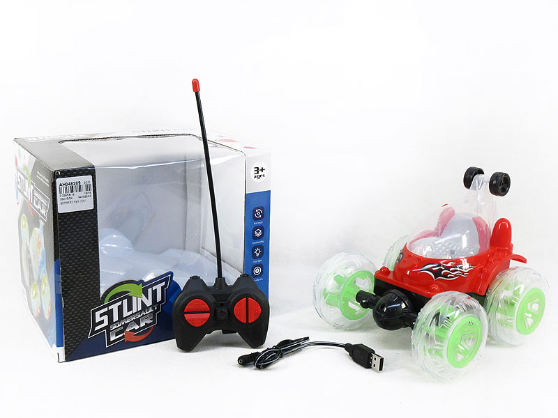 R/C Stunt Car W/L_M_Charger toys