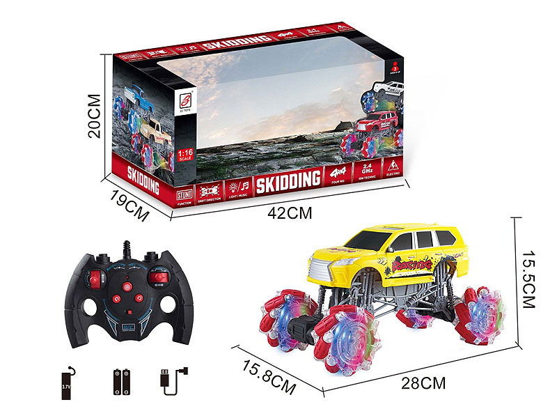 R/C Stunt Car W/L_M_Charge toys