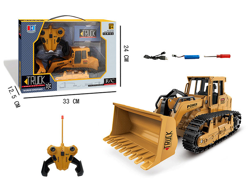 R/C Construction Truck W/L_M_Charge toys