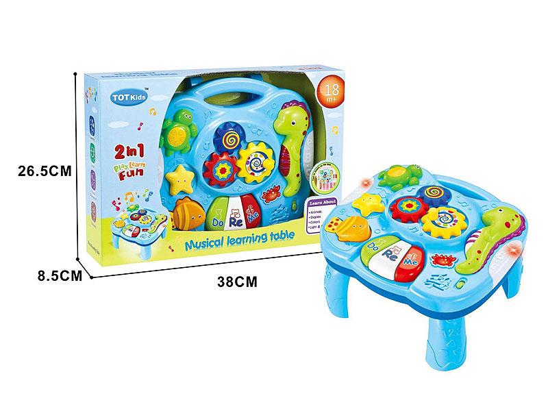 Learing Desk W/L_M toys