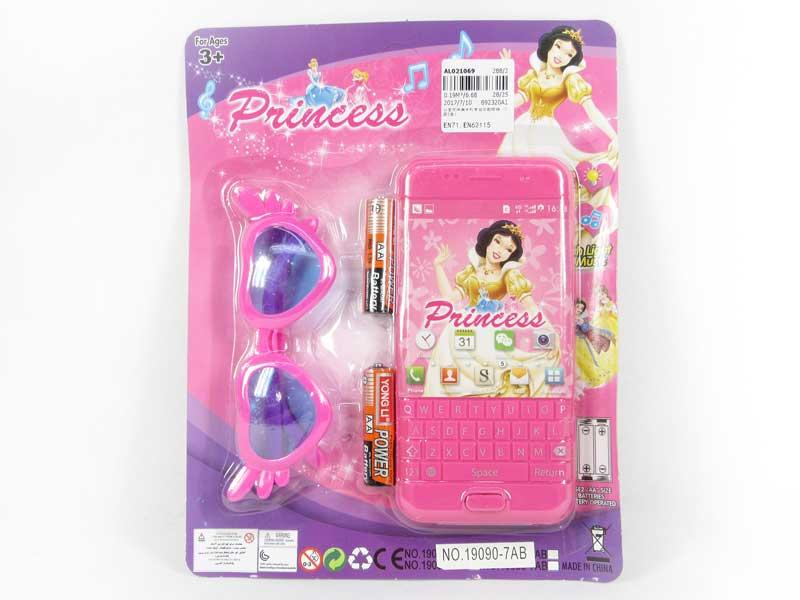 Mobile Telephone W/M & Glasses(2S2C) toys
