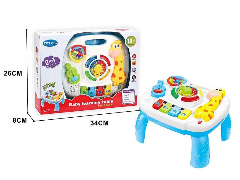 Learning Desk W/L_M toys
