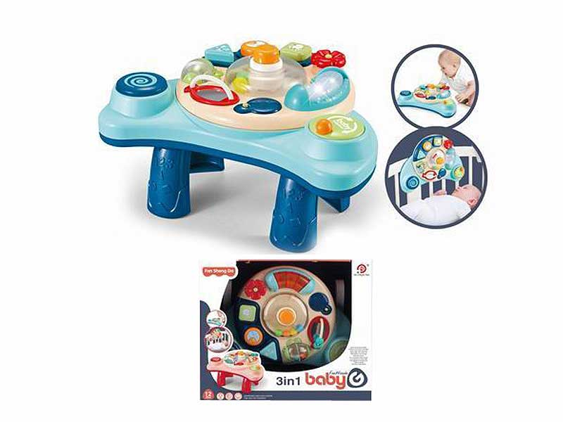 3in1 Learning Piano with light and music toys