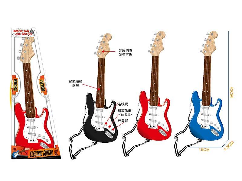 Electronic Guitar W/M(3C) toys