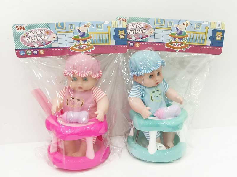 12inch Doll Set W/L_M(2C) toys