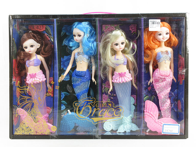 Mermaid W/L_M(4in1) toys