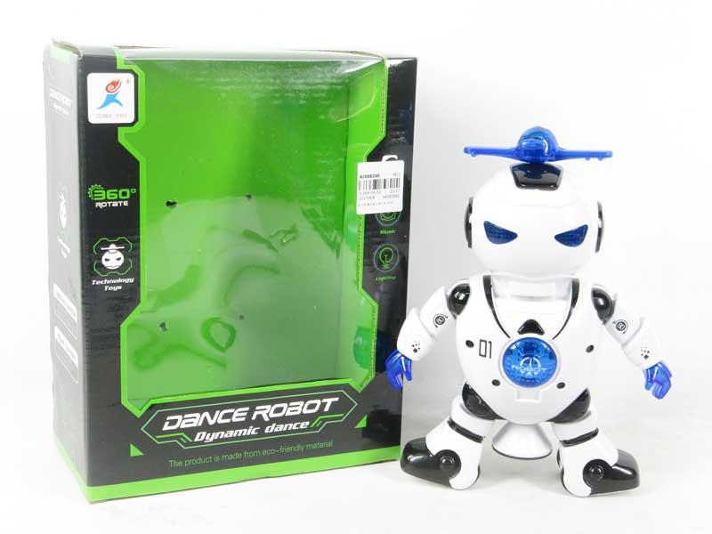 B/O Dance Robot W/L_M toys