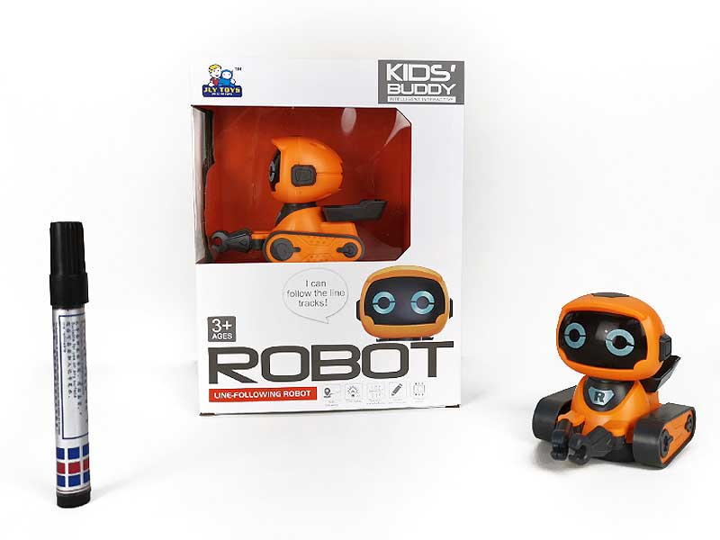 B/O Tracking Robot following drawing line toys