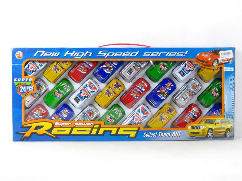 Pull Back Racing Car(24in1) toys