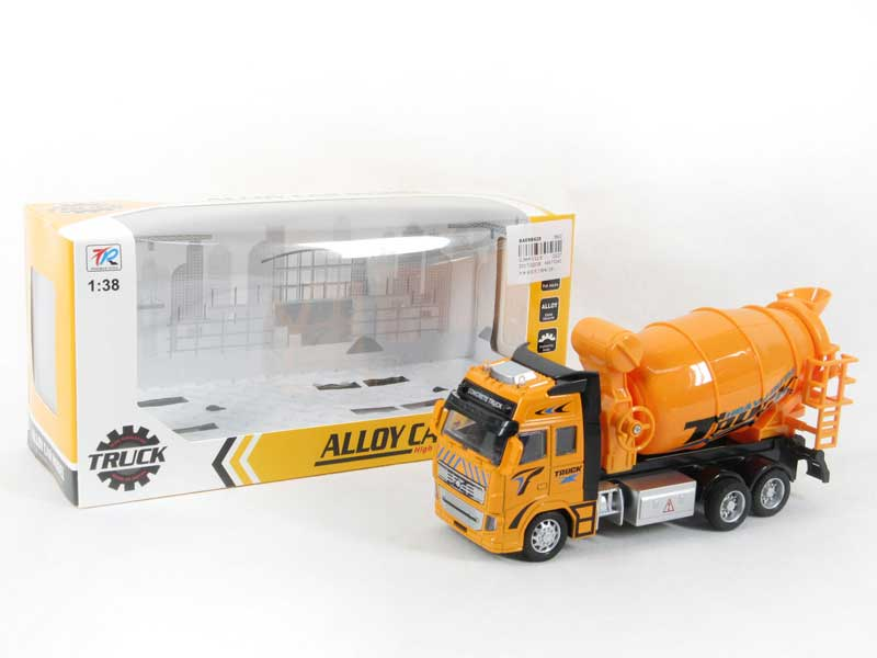Die Cast Construction Truck Pull Back(2C) toys