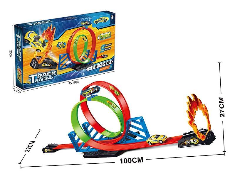 Pull Back Railcar Set toys